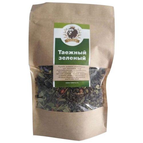 Чай зеленый Lider Таежный , 100 г чай зеленый lider китайский листовой 62 100 г