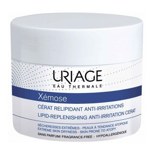 Крем для тела Uriage Xemose Cerat насыщенный липидо-восстанавливающий против раздражений, 200 мл uriage крем липидовосстанавливающий против раздражений ксемоз 200 мл