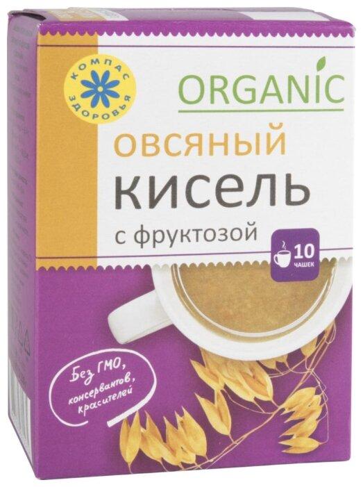 Компас Здоровья Кисель овсяный Organic с фруктозой