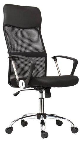 Купить Компьютерное кресло Brabix Flash MG-302 офисное, обивка: текстиль/искусственная кожа, цвет: черный по низкой цене с доставкой из Яндекс.Маркета (бывший Беру)