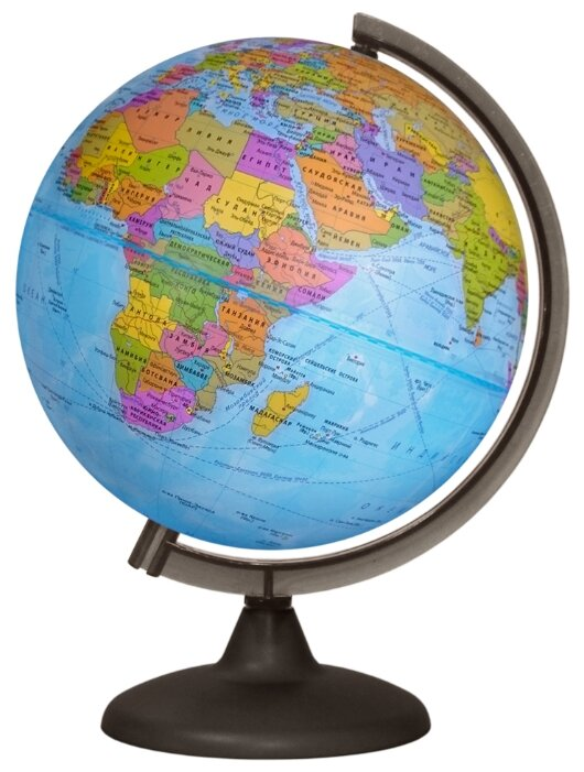 Глобус политический Глобусный мир, 25см, на круглой подставке (арт. 208154)