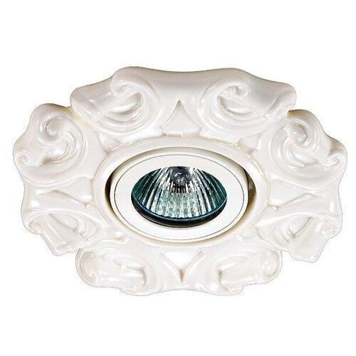 Встраиваемый светильник Novotech Farfor 370040, белый встраиваемый светильник novotech farfor 370208
