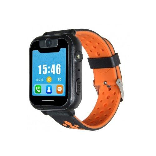 Детские умные часы DIGMA Kid K7m, черный/оранжевый