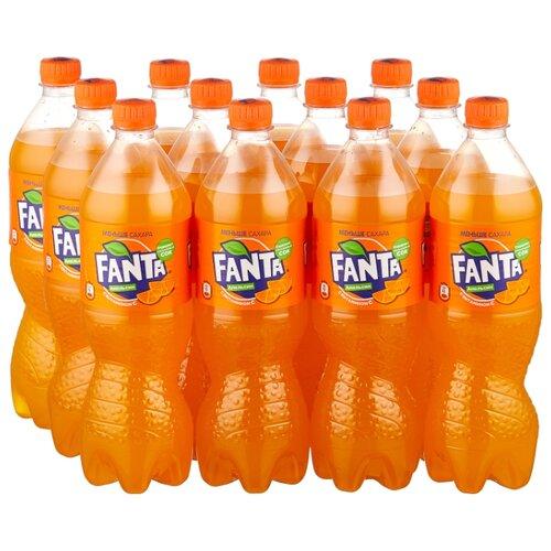 Газированный напиток Fanta, 0.9 л, 12 шт.