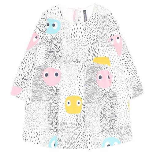 Платье crockid размер 86, смайлики на сахаре