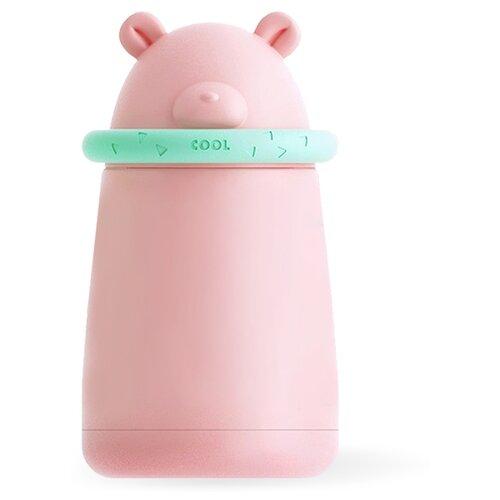 Классический термос Fissman Детский, 0.3 л розовый