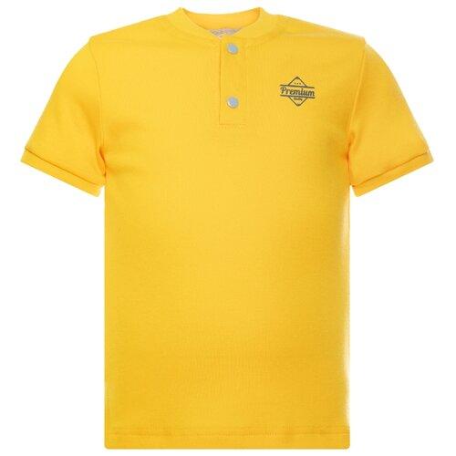 Купить Футболка Утенок, размер 92, желтый премиум, Футболки и рубашки