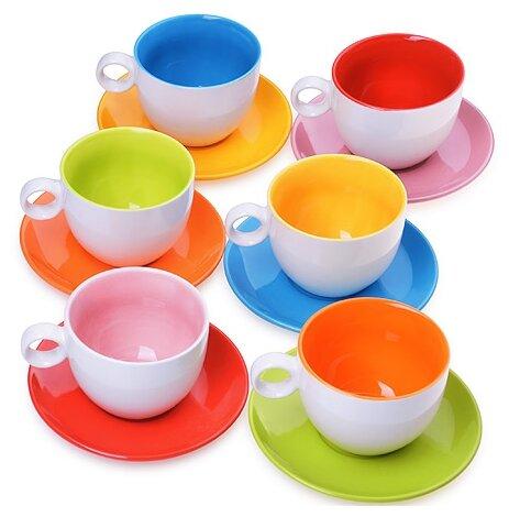 Чайный сервиз Loraine 27581, 6 персон