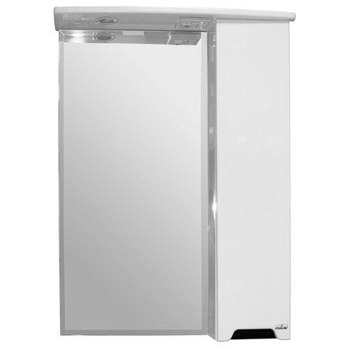 Шкаф для ванной Mixline Прометей правый, (ШхГхВ): 61.5х22х80 см, белый
