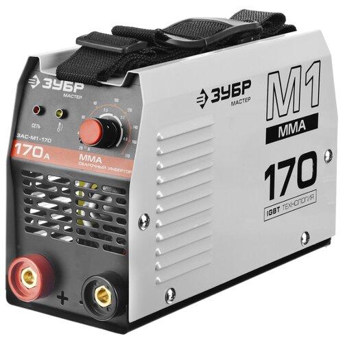 Сварочный аппарат ЗУБР ЗАС-М1-170 (MMA) сварочный аппарат daewoo dw 170
