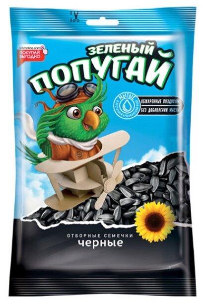 Семена подсолнечника Зеленый попугай Отборные 190 г