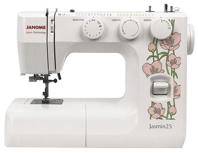 Электромеханическая швейная машина Janome Jasmin25