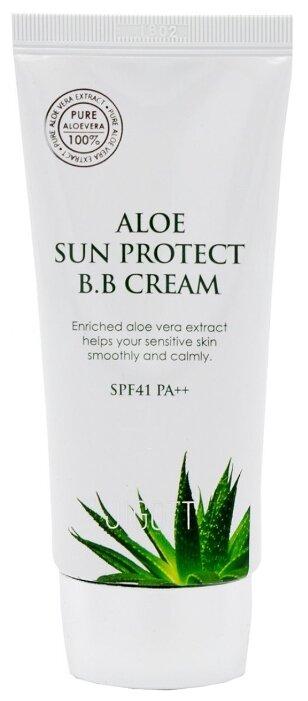 Jigott Aloe Sun Protect BB крем SPF41