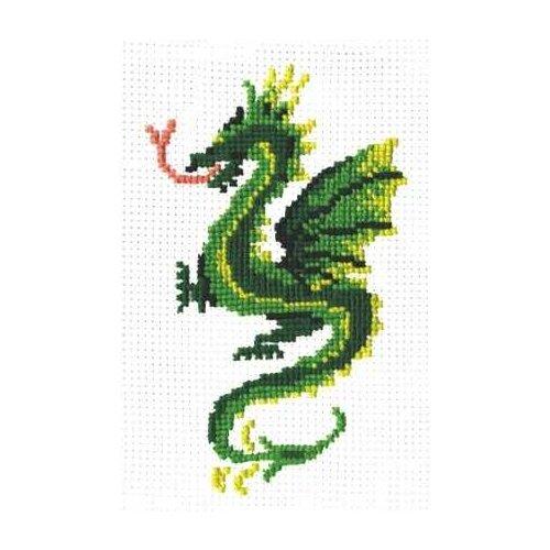 Сделай своими руками Набор для вышивания Дракон 14 х 11 см (Д-07)