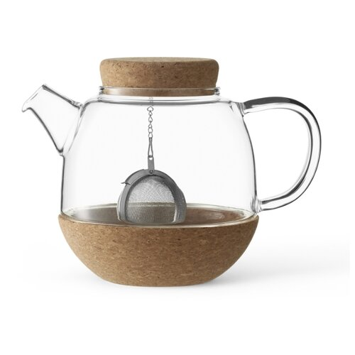 VIVA Scandinavia Заварочный чайник Cortica V71300 800 мл, прозрачный/коричневый