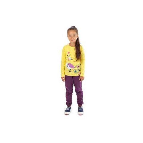 Купить Лонгслив V-Baby размер 116, жёлтый, Футболки и майки