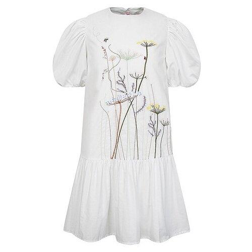Платье Il Gufo размер 92, белый