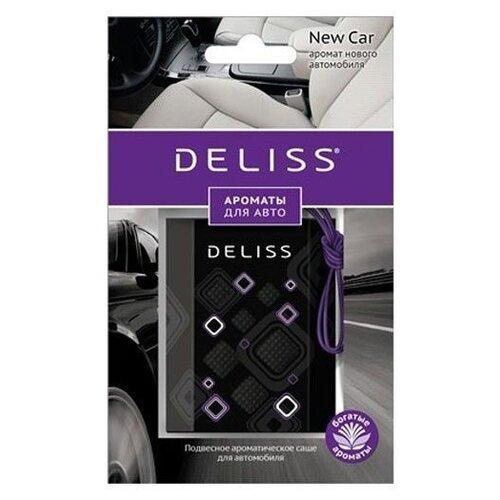 Deliss Ароматизатор для автомобиля, AUTOS006.05/01, New Car 8 г