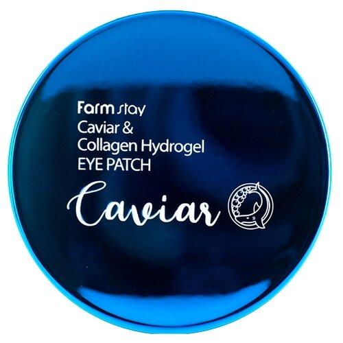 Farmstay Патчи для кожи вокруг глаз Caviar & Collagen Hydrogel Eye Patch 90 г (60 шт.)