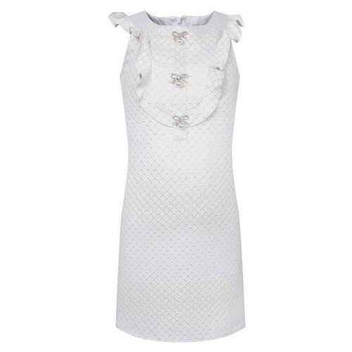 Платье David Charles размер 140, кремовый