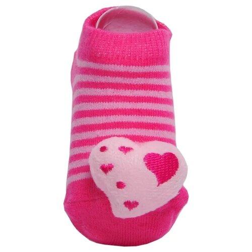 Купить Носки Lansa размер 18-20, розовый/полоска