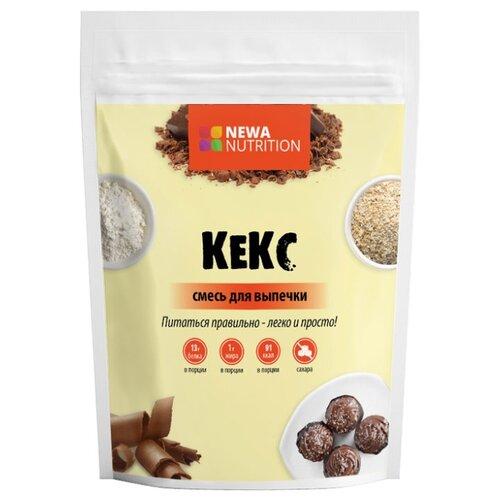 Фото - NEWA Nutrition смесь для выпечки Кекс с шоколадным вкусом, 0.2 кг смесь для десерта newa nutrition пудинг шоколадный вкус 150 г