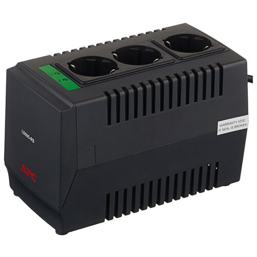 Стабилизатор напряжения однофазный APC by Schneider Electric Line-R LS595-RS (0.3 кВт) цена 2017