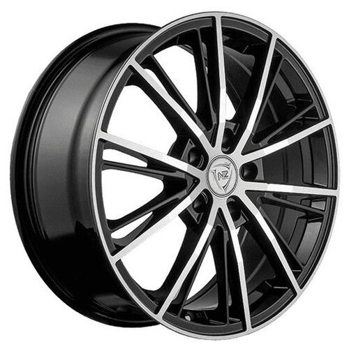 Фото - Колесный диск NZ Wheels F-31 7x17/5x108 D63.3 ET55 BKF колесный диск nz wheels sh662 7x17 5x108 d63 3 et55 sf