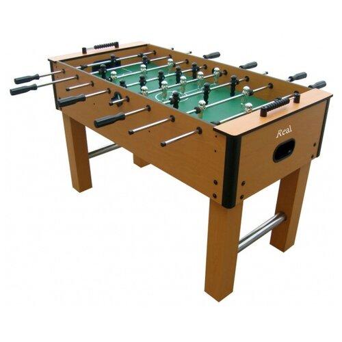 Игровой стол для футбола DFC Real GS-ST-1339 коричневый игровой стол для футбола dfc santos es st 3620 черный желтый