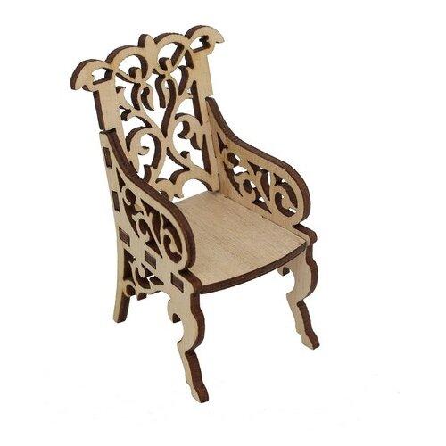 Купить Astra & Craft Деревянная заготовка для декорирования Креслице резное L-660 береза, Декоративные элементы и материалы