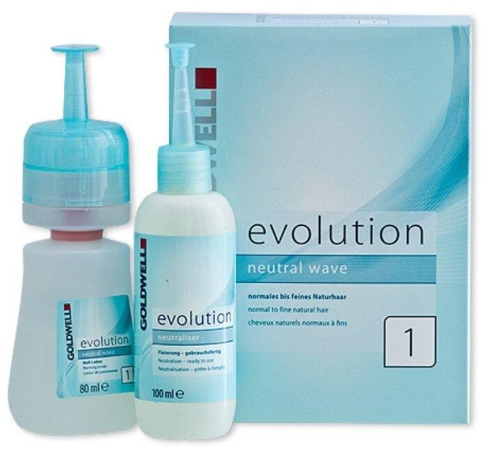 Goldwell Набор Evolution Neutral Wave 1 для нейтральной химической завивки для нормальных или тонких волос
