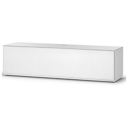Тумба под телевизор Sonorous STD 160 F, ШхГхВ: 165х45х44 см, цвет: белый тумба под телевизор mart командор шхгхв 150х50х50 см цвет белый