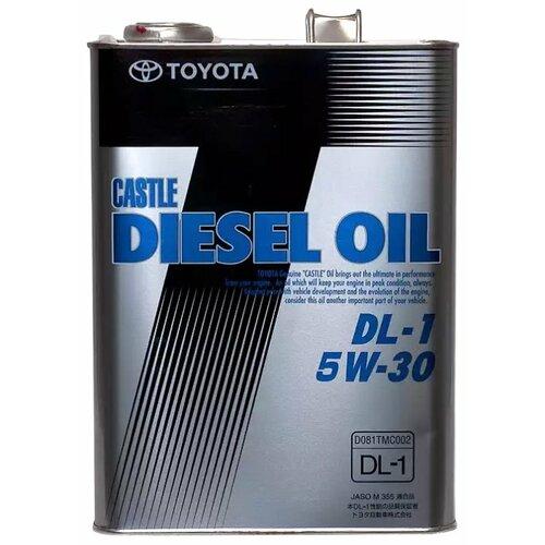 Моторное масло TOYOTA Castle Diesel Oil DL-1 5W30 4 л