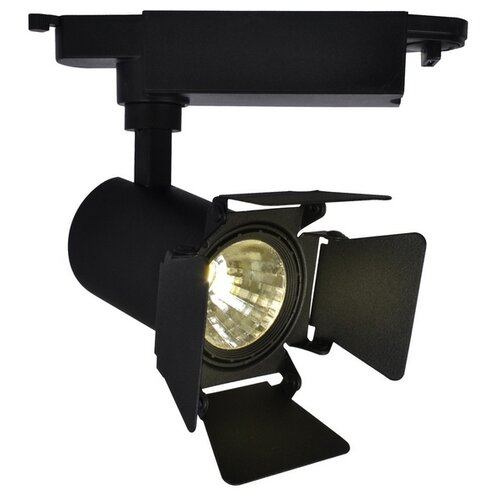 Трековый светильник-спот Arte Lamp Track Lights Black A6709PL-1BK трековый светильник arte lamp track lights a3607pl 1bk