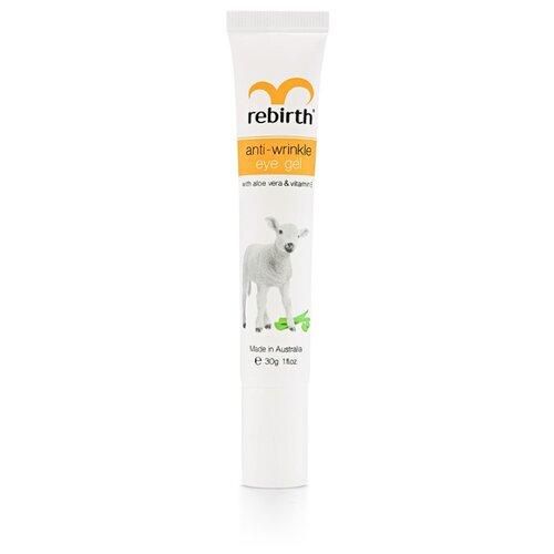 Rebirth Гель против морщин для кожи вокруг глаз с витамином Е и алое вера 30 мл
