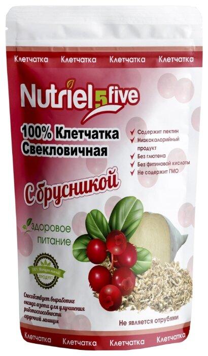 Клетчатка Nutriel five свекловичная с брусникой без сахара, 150 г