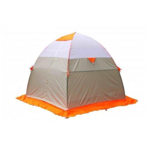 Палатка ЛОТОС 3 для рыбалки оранжевый палатка normal лотос 2n yellow