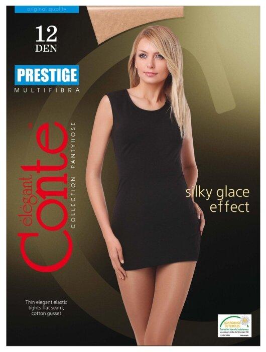 Купить Колготки Conte Elegant Prestige 12 den, размер 5, natural (бежевый) по низкой цене с доставкой из Яндекс.Маркета