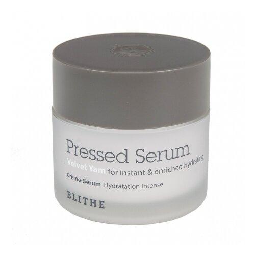 BLITHE Pressed Serum Velvet Yam Спрессованная сыворотка-крем увлажняющая для лица, 20 мл