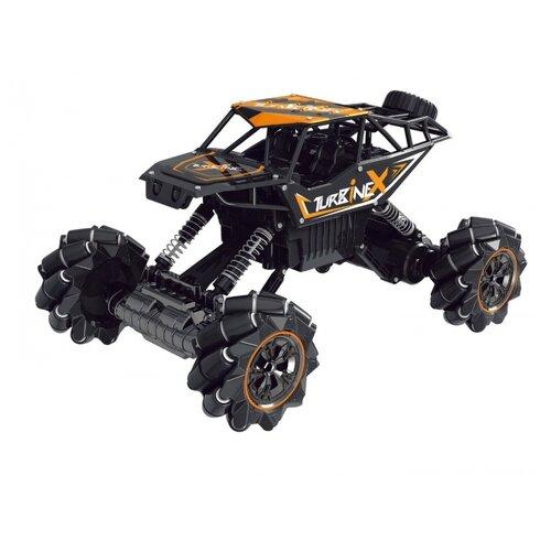 Купить Машинка Пламенный мотор Краулер Дрифт (870449/870450) 36 см черный/оранжевый, Радиоуправляемые игрушки
