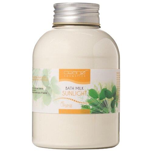 Ceano Cosmetics Молочко для ванн Солнечный свет, 300 г ceano cosmetics кремер для ванн малина 40 г