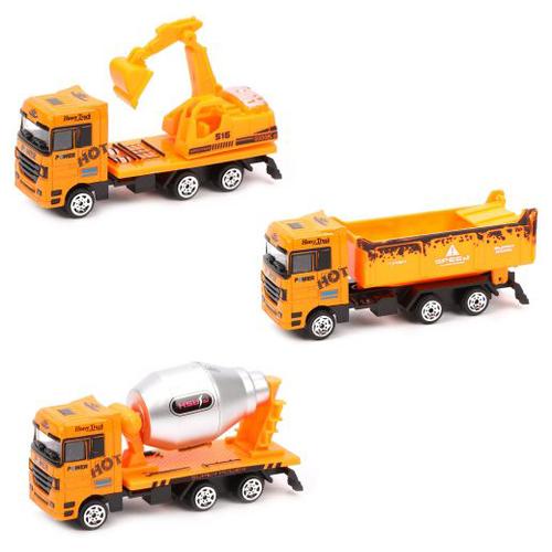 Купить Набор машин t.na Спецтехника (TN-1110B) оранжевый, Машинки и техника