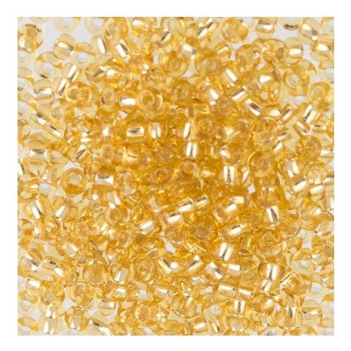 Купить Бисер круглый 5 10/0 Gamma , 50 грамм, цвет: E199 (17020), Фурнитура для украшений