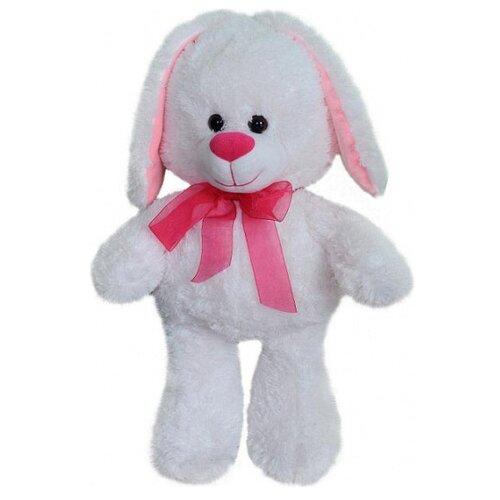 Мягкая игрушка СмолТойс Зайчонок белый 45 см