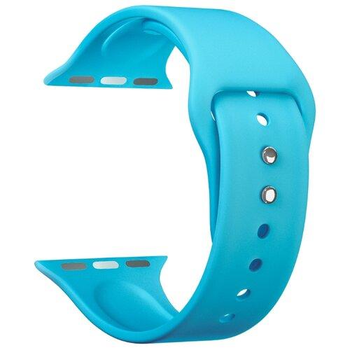 Фото - Lyambda Силиконовый ремешок Altair для Apple Watch 42/44 mm blue lyambda силиконовый ремешок alcor для apple watch 42 44 mm green