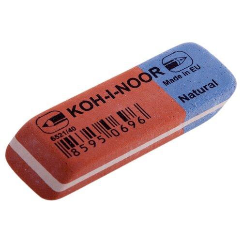 KOH-I-NOOR Ластик 6521/40 красно-синий koh i noor ластик 300 40