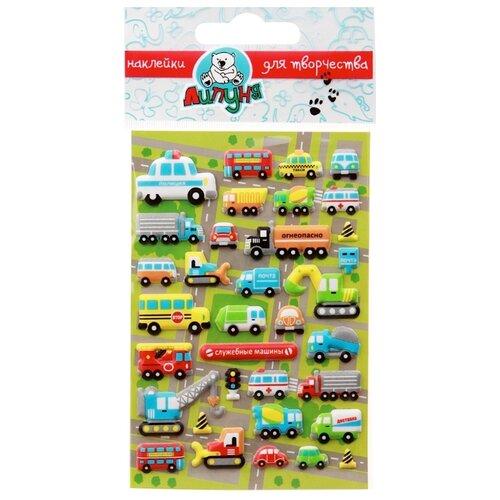 Купить Липуня Набор наклеек Машины (MMS004), Наклейки
