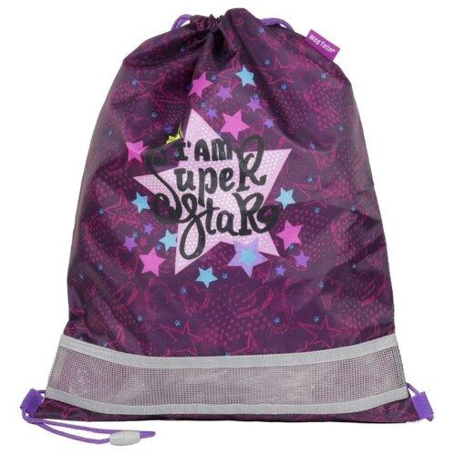 MagTaller Мешок для обуви Super Star (31916-68) фиолетовый недорого