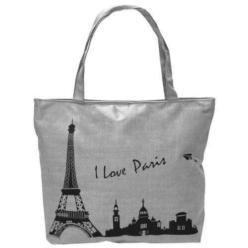 Сумка тоут Kingth Goldn C187-3/4/7/8/9, текстиль, i love Paris сумка тоут kingth goldn c187 3 4 7 8 9 текстиль