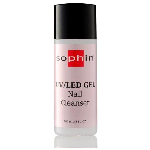 Sophin Средство для снятия липкого слоя Nail Cleancer 100 мл